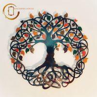 Plachetă decorativă perete Copacul infinit toamna  - Înțelepciune