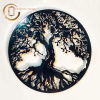 Plachetă decorativă perete Copacul vieții Gotic