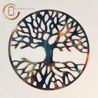 Plachetă decorativă perete Copacul vietii modern