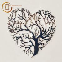 Plachetă decorativă perete Copacul inima - Iubire infinită
