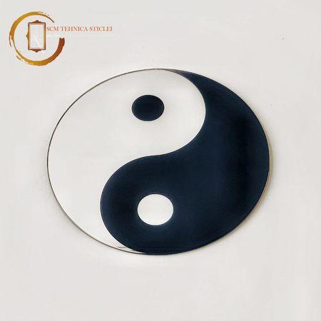 Oglindă decorativă Yin și Yang